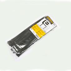 Стяжка 300х3.6 мм, 100 шт, чорна, weather resistant, Panduit