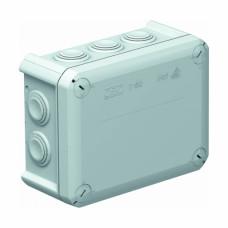 Коробка розподільча, зовнішня., пластик, 150х116х67, вводи 10хM25, IP66, без клем