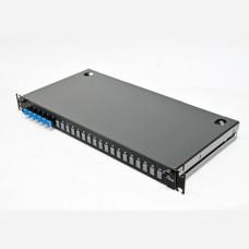 ВО патч-панель LAN1 з 6xLC Duplex адапт., 12 пігтейл., сплайс-касетою, SM, OS2, 1U