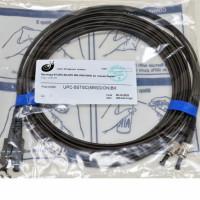 Патчкорд ST/UPC-SC/UPC MM (G50-OM3), 5.0 м,чорний Duplex
