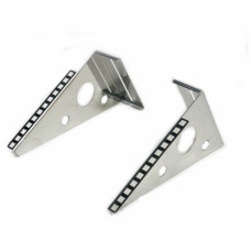 Bracket 4U, for wire, stainless steel 304, 1.5mm