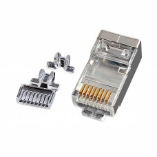 Connector STP Cat. 6, with inset, EPNew