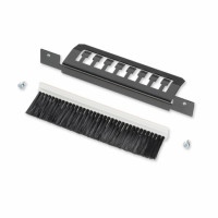 LANS Cable Strain Relief,Straight and brush strip