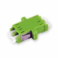 LC / LC adapter, APC, SM, Duplex