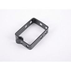 Cable Organizer ring 44x60, metal 2mm, black
