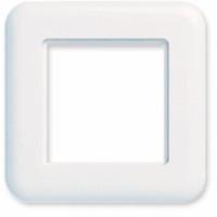 Frame for LANSafe plates, 80x80 mm, white