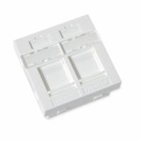 FutureCom™ Combi-Frame, 45 x 45 mm, white