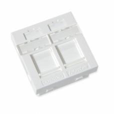 Пластина 45х45 на 2 модуля LANscape