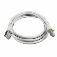 Patch Cord,kat 6A, LSZH, RJ45 - RJ45 connector, grey, 1.0m