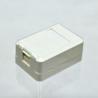 Surface box,single port,without keystone jack