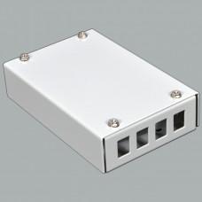Boх for FO adapters, (120х80х28mm)