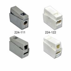 З'єднувач для світильників і люстр, 1.5 - 2,5 (0.5 - 2.5) мм2, 24А, 1 провід.