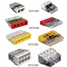 Connector COMPACT  for solid wires  1.0 - 2.5 mm2, 24A