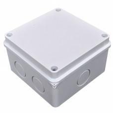 Коробка розподільна, зовнішня, пластикова110х110; 6 вводов IP55,без клем.