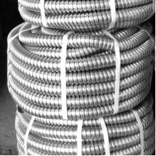 Металорукав, D15,9/10,9 мм (50 м) оцинкований з протяжкою, ЕМС